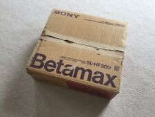 Sony Betamax Video cassette recorder Sl-Hf300 No Remote *Working*
