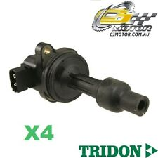 TRIDON IGNITION COIL x4 FOR Volvo V40 02/98-02/04, 4, 2.0L B4204T