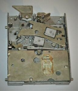 Original Soda Machine Coin Mechanism for PARTS OR RESTORATION, UNTESTED - NICE