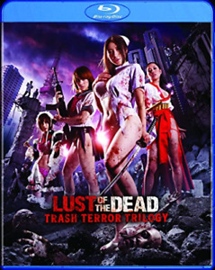 LUST OF THE DEAD: TRASH TER...-LUST OF THE DEAD: TRASH TERROR TRILOG Blu-Ray NEW