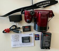 Samsung Wb Series Wb1100F 16.2Mp Digital Camera With Accessories (See Details)