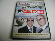 The Yes Men Fix the World (DVD, 2010, Canadian)