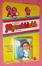 NIP ORIGINAL MINI MONCHHICHI ACE TENNIS PLAYER MASCOT MATTEL 1981 VHTF OLD TOY