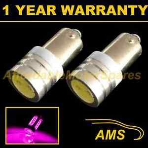 2X BA9s T4W 233 Xénon Rose Haute Puissance Feu Latéral LED Ampoules SL100801