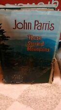 John Parris These Storied Mountains with dust jacket 1972 North Carolina