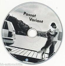 CD VW Passat Variant 7/92 Original Volkswagen Auto PKWs Deutschland deutsch 1992