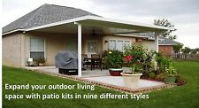 Aluminum Patio Cover - Any Size |  Complete DIY Kit  | Pricing per SQ Foot