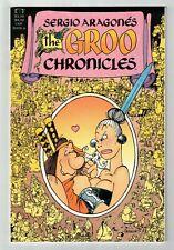GROO CHRONICLES #6 NM+ Sergio Aragones! High Grade! Epic/Marvel Rare! Last Issue