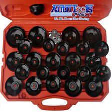 Kit de llave de filtro de aceite-Conjunto Taza Tipo 30pc