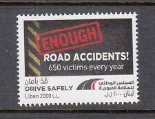 LEBANON- LIBAN MNH SC# 793 DRIVE SAFELY - ENOUGH ROAD ACCIDENTS