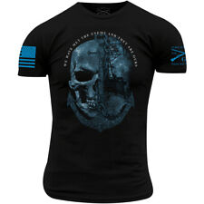 Grunt Style USN - The Enemy Is Ours T-Shirt - Black