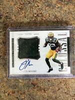 J'mon Moore National Treasures Rookie Patch Auto 13/99