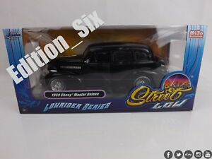 Jada Toys 1:24 Street Low 1939 CHEVY MASTER DELUXE Classic Chevrolet Black