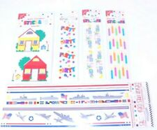METALLIC AIR SHOW RETIRED Mrs Grossman JETS AND PLANES Stickers
