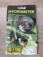 Exo Terra Hygrometer,  New, Free Shipping