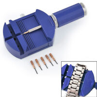 Bracelet Wrist Watch Band Adjuster Repair Tool Link Strap Remover+1 pc needle