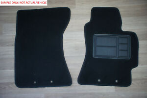 Car Floor Mats Front Pair Made For Ford Fairlane BA/BF/Ghia Ute: 07/2003-11/2007