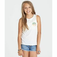 2017 NWOT YOUTH GIRLS BILLABONG WING SPIRIT PATCH TANK TOP $18 M cool wip