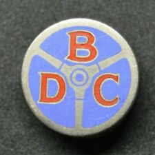 Vintage BDC Bedford Drivers Club enamel lapel badge by Miller