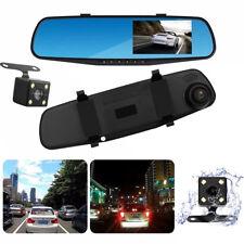 1080P HD Auto Dash Kamera Dual Cam Fahrzeug Vorne Hinten DVR Lens Video Recorder