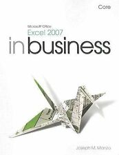 Microsoft Office Excel 2007 In Business, Core