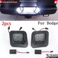 License Plate Rear Bumper Lights LED Lamps For Dodge Ram 1500 2500 3500 03-18 TS