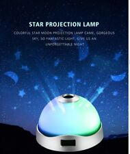 RGB Night Light Star Sky Projection Lamp Baby Display Alarm Desk Clock Children