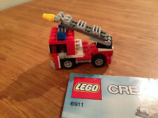 Lego Creator Set 6911 Mini Fire Truck (2011).