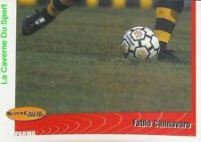 228 FABIO CANNAVARO 3/3 ITALIA AC.PARMA STICKER SUPER CALCIO 2001 PANINI