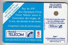 VARIETE TELECARTE FRANCE .. 50U F222 SC4 T6 SKI 0 ENVERS GE.34320  UT/TBE C.8€
