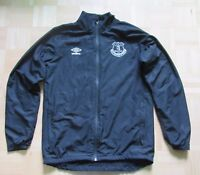EVERTON FC Zip Training Top Jacket  UMBRO 2014-2015 The Toffees adult SIZE M