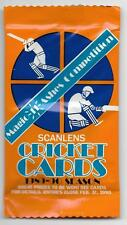 1989 - 90 Scanlens Cricket Cards - UNOPENED PACK (68 Available)