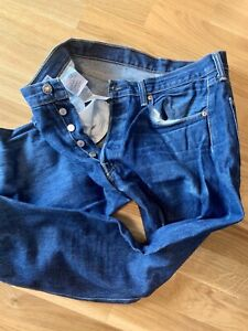 Levis 501 XX Jeans W34/L38 - Blue  - Used
