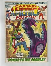 Captain America #143/Bronze Age Marvel Comic Book/Red Skull/VG+