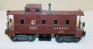 Lionel No. 6457 Caboose !