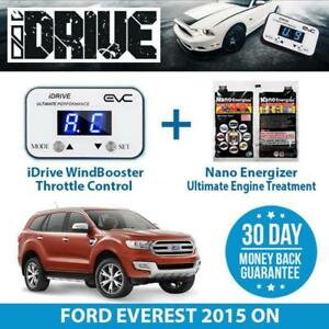 IDRIVE THROTTLE CONTROL FOR FORD EVEREST 2015 ON + NANO ENERGIZER AIO
