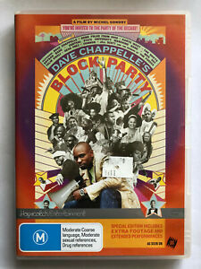 DAVE CHAPPELLE'S BLOCK PARTY. DVD