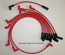 Cadillac Fleetwood 1994-1996 LT1 5.7L 350 HIGH PERFORMANCE RED Spark Plug Wires