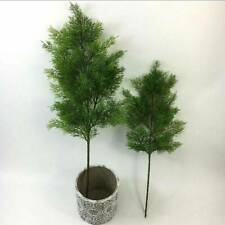 Artificial Plant Cloth Pine Leaves Branches Floral Table Home Decor 38cm Green