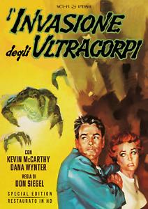 L'Invasione Degli Ultracorpi - Special Edition Restaurato In Hd (Dvd + Poster)