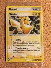 Pokemon PIKACHU 012 + MEOWTH 013 Holo PROMO Cards SEALED - Fast Shipping!!