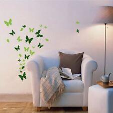 Hasta 53 arte pegatina ventana cocina baño mariposas dormitorio decoración pared