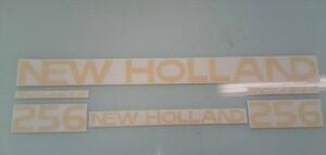 New Holland 256 Hay Rake decals