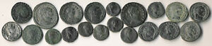 20 ANCIENT ROMAN COINS (AUTHENTIC ATTRACTIVE > NICE LOT!!) YOU ID > NO RESERVE