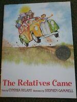 The Relatives Came Simon & Schuster, Cynthia Rylant Collector's Edition Cheerios