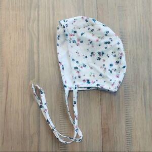 Briar Cream Floral Bonnet Infant Girls 12-18M