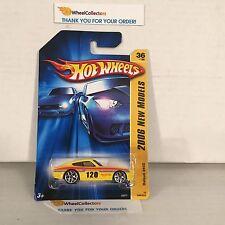 #1  Datsun 240Z #36 * YELLOW w/ Y5 Rims * 2006 Hot Wheels * Y21