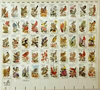 50 State Birds & Flowers Stamps USPS 20 Cent Each 1981 Commemorative Mint Set