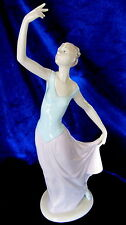 Nao By Lladro #1204 The Dance Is Over Brand New In Box Lady Dancer Free Shipping