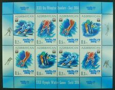 Aserbaidschan Azerbaijan 2014 Olympiade Olympics Sotschi 1028-31 Kleinbogen MNH